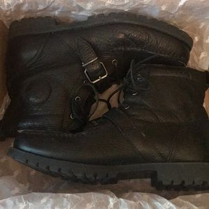 Polo Ralph Lauren leather boots